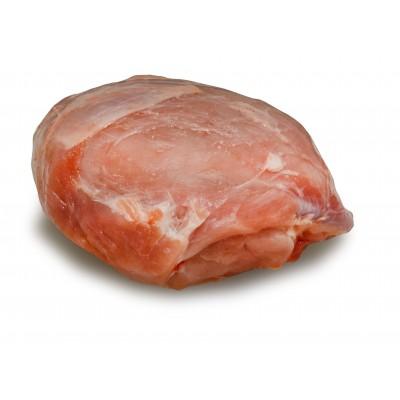 Schinkenbraten vom Sortbroget-Schwein