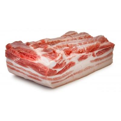 Schweinebauch (ohne Rippen) vom Sortbroget-Schwein