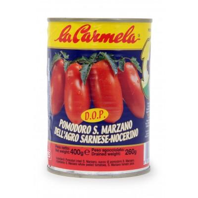 San Marzano Tomaten geschält D.O.P. (Dose ganze geschälte Tomaten)