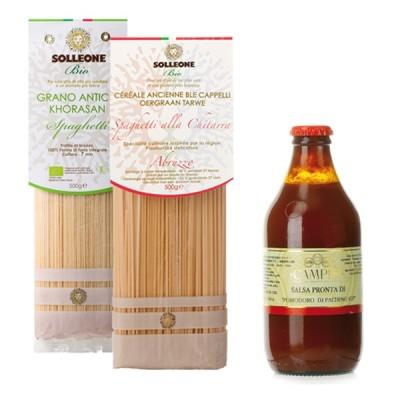 Vorratspaket Solleone Spaghetti & Pachino-Tomatensauce