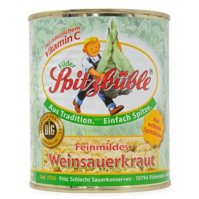 Spitzbüble Filder Sauerkraut 800g (10er Vorratspack)