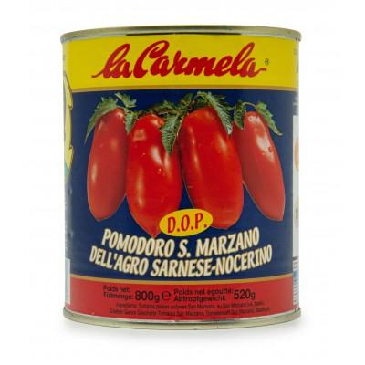 San Marzano Tomaten geschält D.O.P. (Dose ganze geschälte Tomaten) - 800g