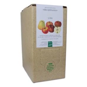 Naturreiner Apfeldirektsaft 'Alte Apfelsorten' 3-Monats-Abo (insg. 12 x 3l Boxen)