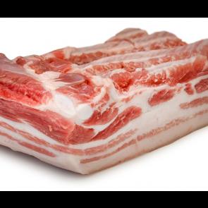 Schweinebauch (ohne Rippen), in Scheiben vom Roten Mangalitza
