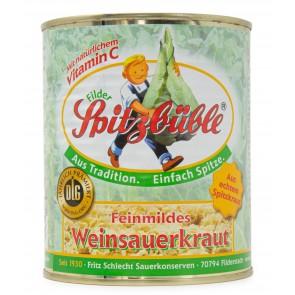 Spitzbüble Filder Sauerkraut 800g (20er Vorratspack)