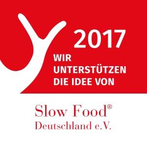 Wir unterstüzten Slow Food Deutschland e.V.